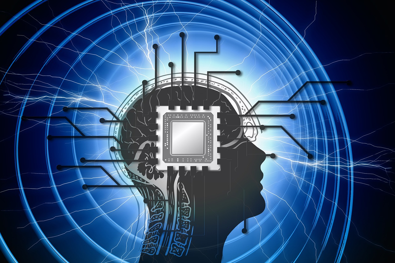processor, brain, head
